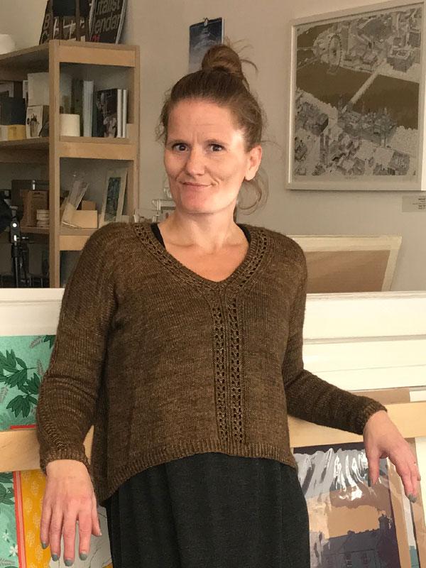 Maya's Filigree Sweater