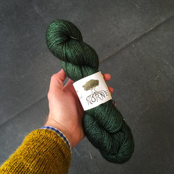 Norne Yarn Merino / Silk / Yak Singles: Hoddmime's Forest