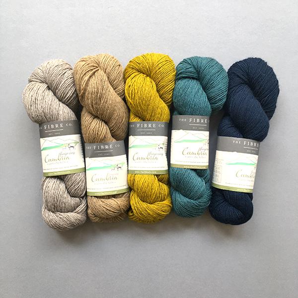Yarn Kit for Scout Shawl Estuary