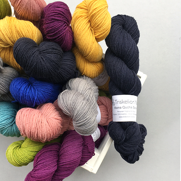 Introducing Triskelion Yarn