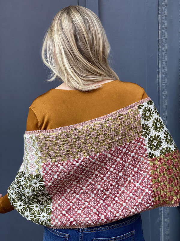 Scout Shawl by Florence Spurling Backside